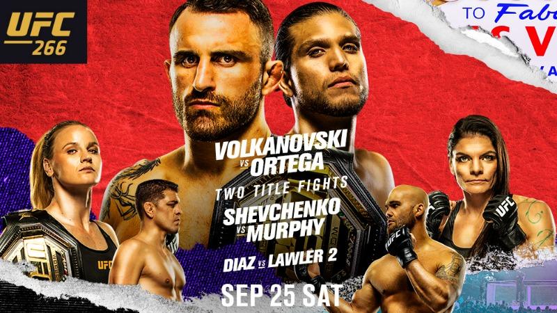 UFC 266 Predictions