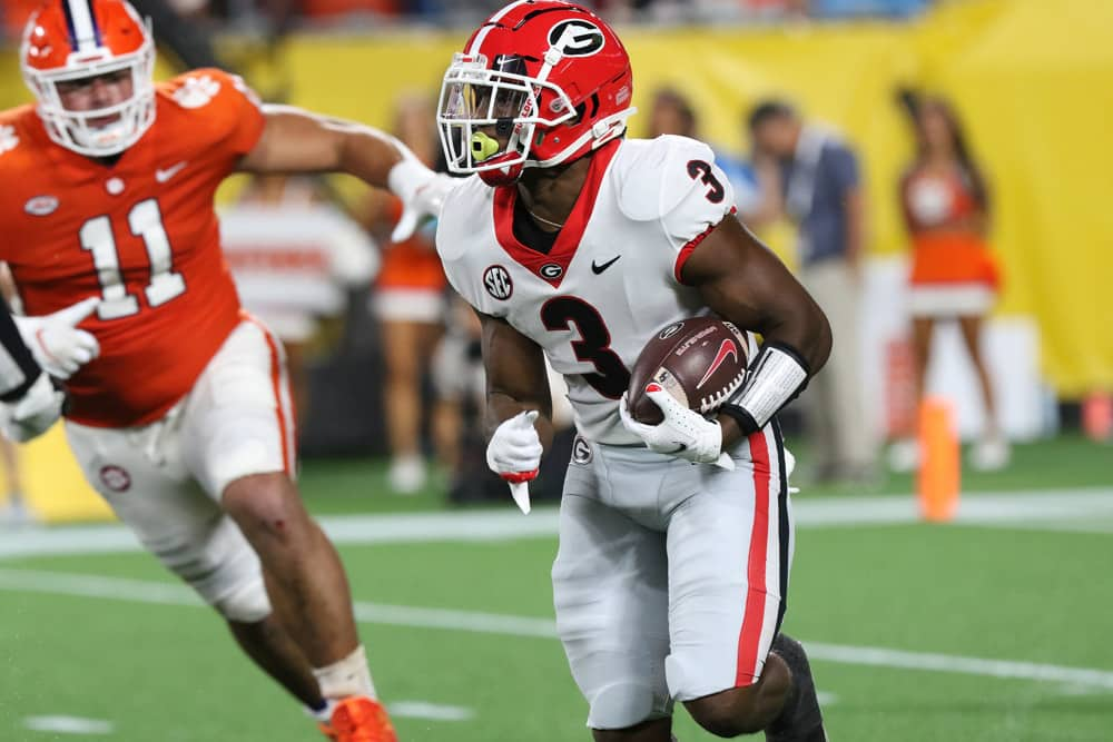 College Football Fantasy Picks: DraftKings CFB DFS Targets & Values for Week 2