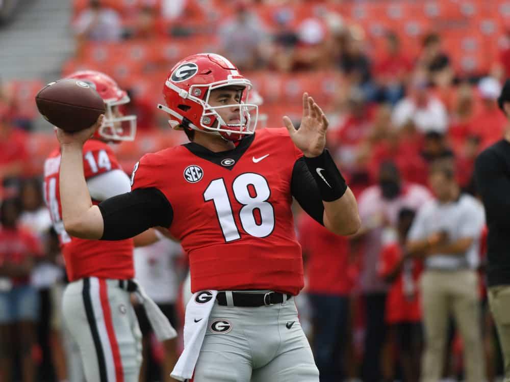 Arkansas Razorbacks @ Georgia Bulldogs Betting Prediction & Preview   The College Football Experience (Ep. 853)