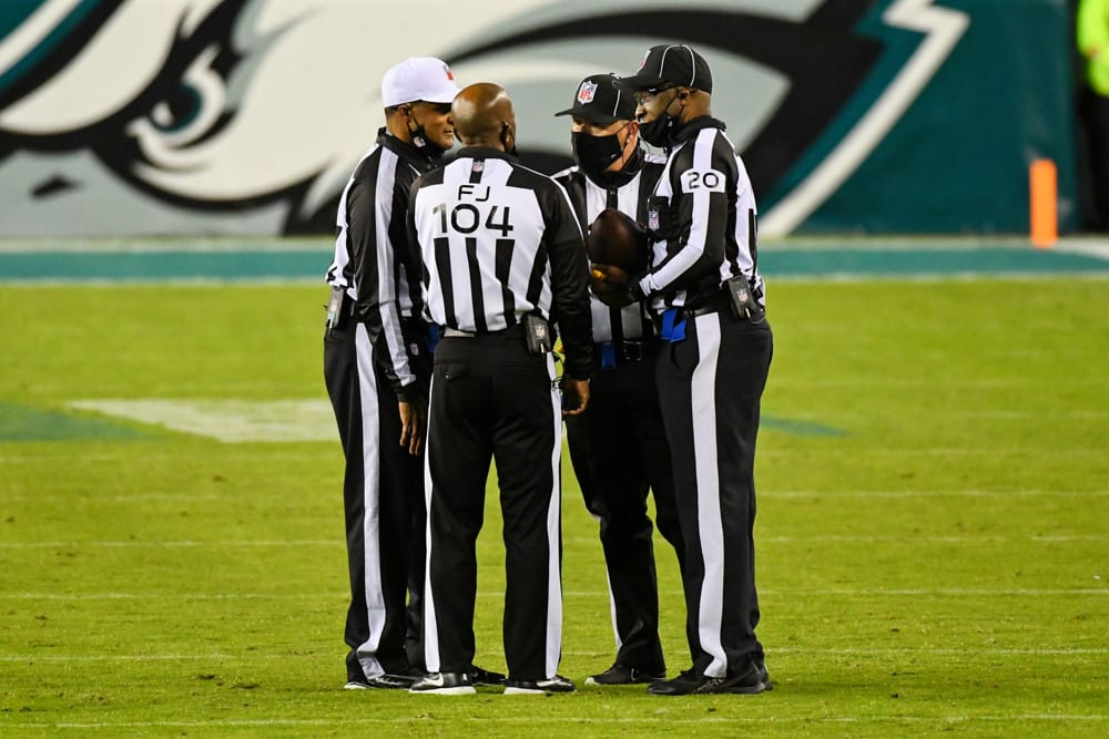NFL Week 6 Referee Betting Stats & Trends